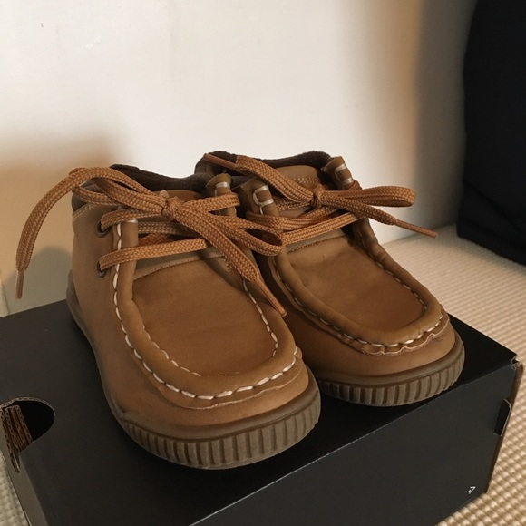 Children's Place Other - Brown/Tan Faux Suede Booties